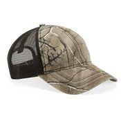 Mesh-Back Camo with Flag Undervisor Cap